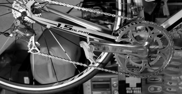 クロスバイクのメンテナンス