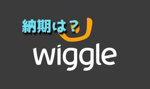 Wiggleに注文したときの納期【何日ぐらいかかる?】