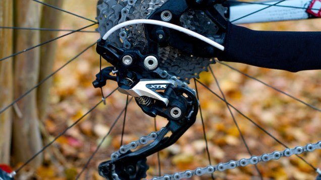 ロードバイクのリアディレイラー(変速装置)の調整6