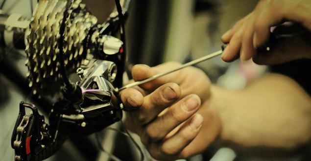 ロードバイクのジャンク品パーツをヤフオクで買う