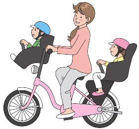 電動アシスト自転車に子供を乗せる