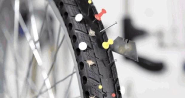 ロードバイクのタイヤがパンクする原因と対策