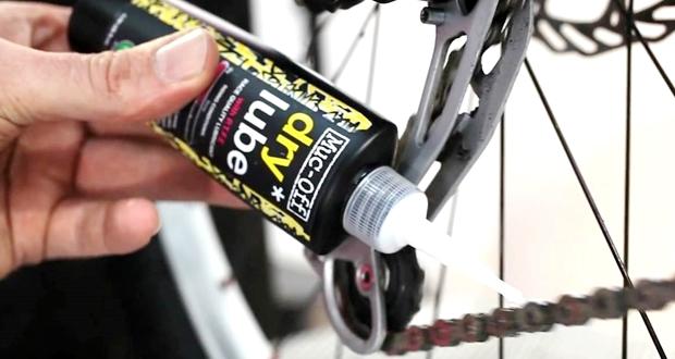クロスバイクのチェーンの注油方法
